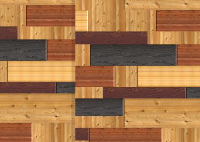 木目の素材組み合わせ その2