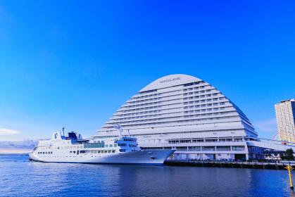 神戸 中突堤 オリエンタルホテル ルミナス神戸 【神戸市の都市風景】