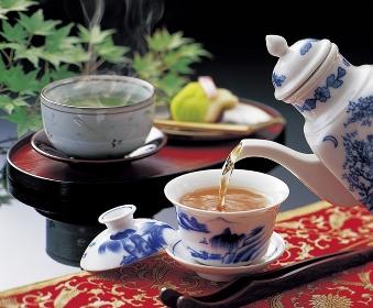 日本茶と中国茶