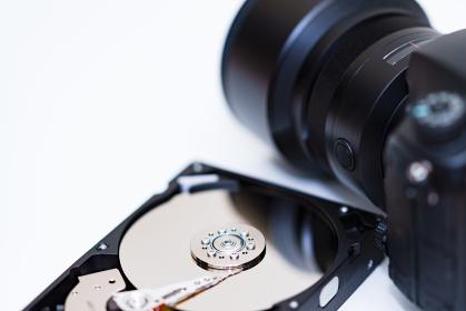 ハードディスク カメラ バックアップ 【 フォトグラファー の イメージ 】