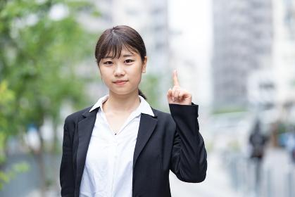 【ハンドサイン・No.1】新入社員・就職活動学生