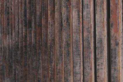 茶色のレトロな壁
