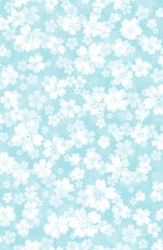 花柄・桜模様 背景素材/年賀状素材