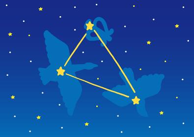 夏の夜空 夏の大三角形