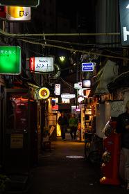 新宿ゴールデン街 夜景