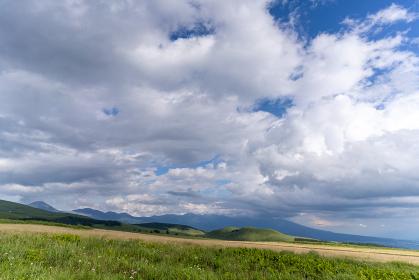 霧ヶ峰高原の景色