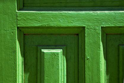 lanzarote abstract door wood in the green spain