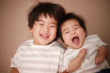 笑顔の子供たち