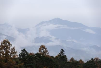 日本の百名山・10月の八ヶ岳・山梨