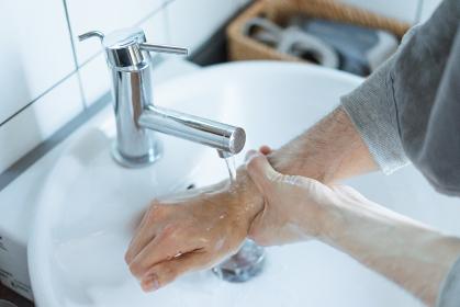 手洗いのイメージ写真・清潔や除菌のイメージ