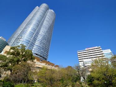 六本木ヒルズと毛利庭園 東京都