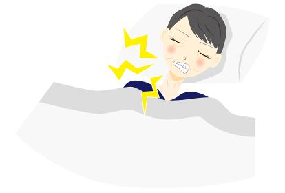 睡眠障害 歯ぎしり ミドル 女性