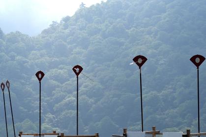 扇の的弓道大会、中禅寺湖、日光、栃木県