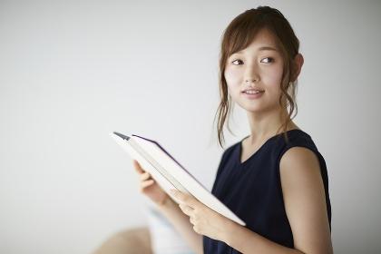 日本人女性のポートレート
