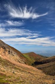 那須岳、紅葉、栃木