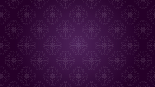 ダマスク模様 シームレス背景壁紙 パープル