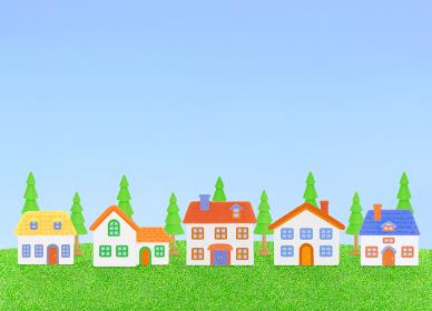粘土の家8軒