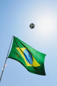 ブラジル国旗 サッカーボール