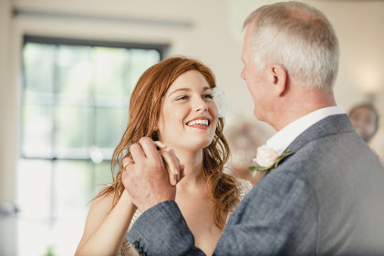 Dancing with my Father at my Wedding