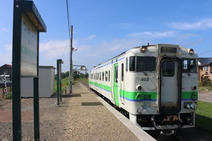 札沼線浦臼駅 キハ40