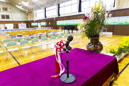 学校の式典イメージ