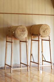 弓道の巻藁