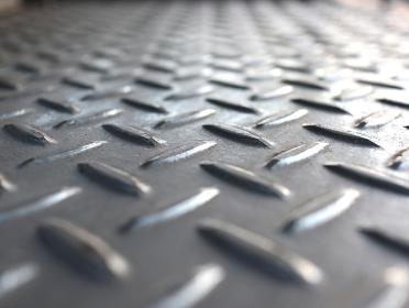 奥行きのある鉄の質感 鉄板