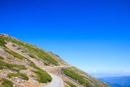 乗鞍岳の登山道