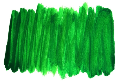 Hand painted dirty green strokes