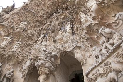 サグラダファミリアの彫刻
