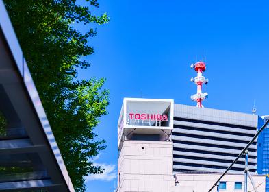 浜松町ビルディング 東芝本社 外観 【 都市風景 】