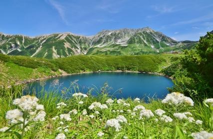 北アルプス 立山連峰 夏景色