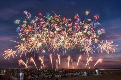 新潟県・柏崎市 ぎおん柏崎まつり海の大花火大会 2018