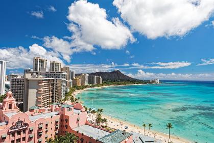 ワイキキビーチ ハワイ アメリカ合衆国