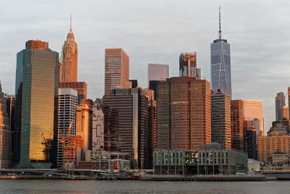 ニューヨーク マンハッタン スカイライン ローワー