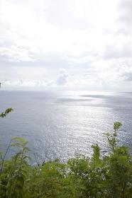 恋人岬から見た風景