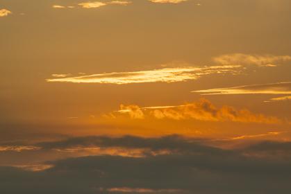 江の島湘南港からの夜明け