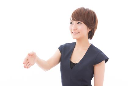 握手をする女性 ビジネス