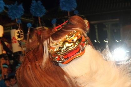 播州の獅子舞2