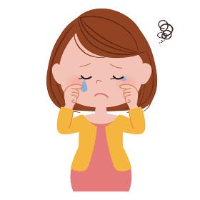 妊婦さん 体調不良 涙