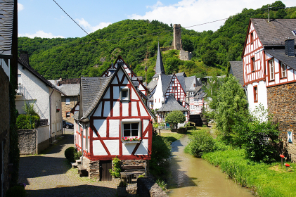 monreal - the most beautiful village in rhineland palatinate