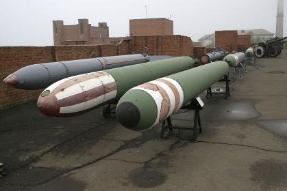 ウラジオストックの魚雷