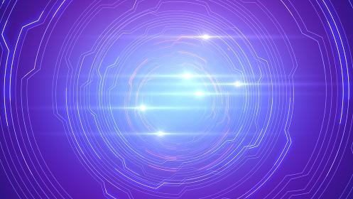 デジタル 回路 トンネル ネットワーク テクノロジー スペース 3D イラスト 背景 バック