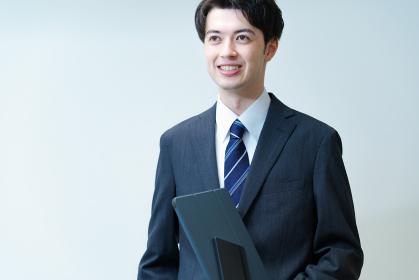 若手ビジネスマンのポートレート