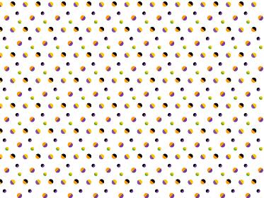 背景素材 背景 壁紙 ハロウィン 秋 水玉 水玉模様 ドット ドット柄 パターン 模様 シームレス