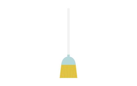 清掃道具 シンプルな普通のほうき