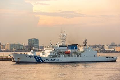 海上保安庁のしきしま型巡視船 - 巡視艇PLH-32 あきつしま(横浜港・神奈川)