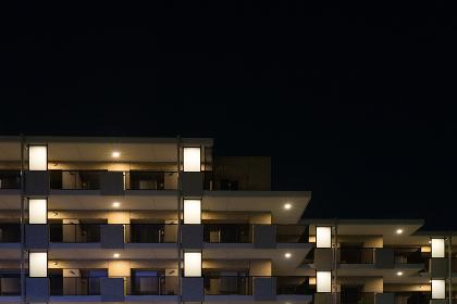 高級マンション(夜景・新築)