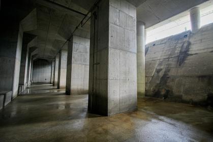 洪水から街を守る防災施設、荏原調節池(品川区・東京)