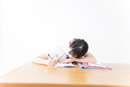 自習をする学生